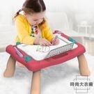 畫板寫字板兒童涂鴉板畫畫磁性玩具畫板桌【時尚大衣櫥】