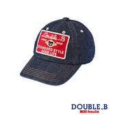 DOUBLE_B     DB牛仔棒球帽(藍)