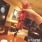 手機掛繩卡通掛脖女寬帶可拆卸不勒脖鑰匙包包掛件紅 快意購物網