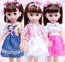 芭比娃娃-會說話的智慧馨蕾芭比洋娃娃女孩仿真套裝女孩玩具 夏沫之戀 YJT