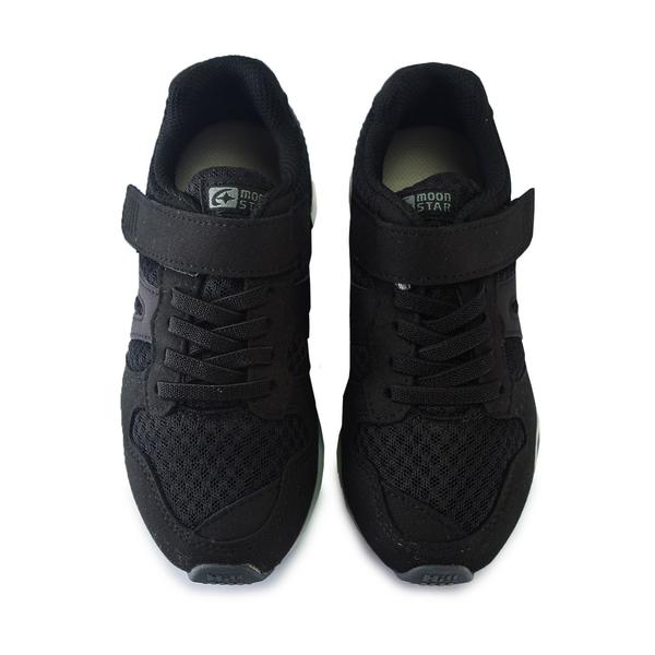 Moonstar月星童鞋 男女童機能鞋 CARROT HI系列 十大機能 矯正 足弓鞋墊 寬楦 跑步鞋 運動鞋 K9611#黑灰