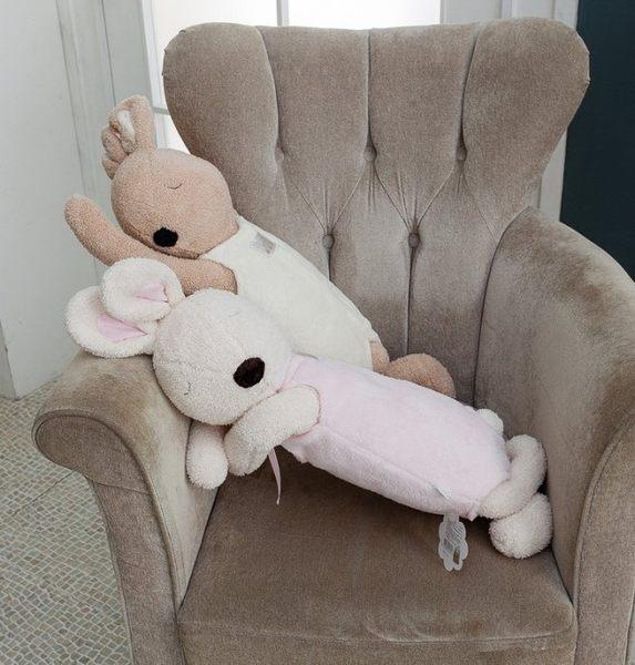 STAR BABY-可愛療癒系兔子 抱枕 午睡枕