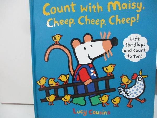 【書寶二手書T1/少年童書_DQK】Count with Maisy, Cheep, Cheep, Cheep!_Walker Books