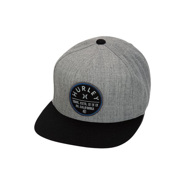 Hurley  M UNION HAT DK GREY HEATHER  棒球帽-(男/女)