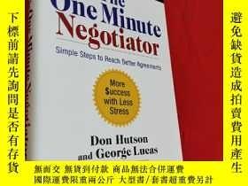二手書博民逛書店The罕見One Minute Negotiator: Simple Steps (大32開,硬精裝) 【詳見圖】