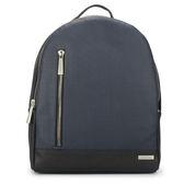 Calvin Klein 防刮皮革後背包(深藍色/黑色)103371