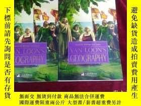 二手書博民逛書店VAN罕見LOON S GEOGRAPHY (2冊合售)館藏書