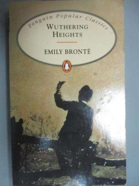 【書寶二手書T6/原文小說_KEH】Wuthering Heights_Emily Bronte