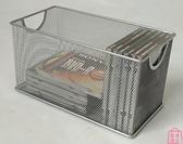 鐵網藝光盤盒CD架子大容量DVD盒光碟收納架盒碟片籃【匯美優品】
