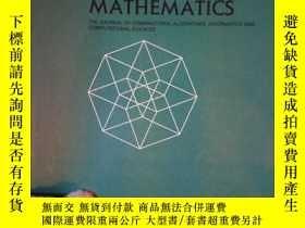 二手書博民逛書店Discrete罕見Applied Mathematics Vo