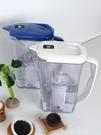 海爾凈水壺家用廚房自來水過濾水壺直飲凈水器臺式便攜過濾凈水杯 交換禮物YXS