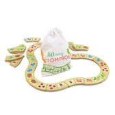 【美國Tender Leaf Toys】花園小徑拼圖組(頭尾接龍西洋骨牌)