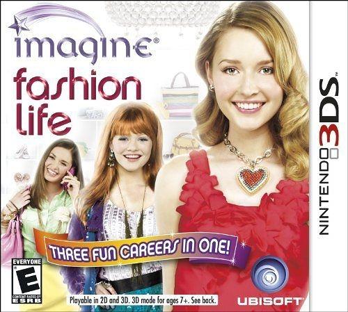 3DS Imagine Fashion Life 想像時尚生活(美版代購)
