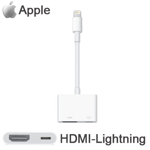 Apple 原廠 Lightning  Digital AV 轉HDMI輸出轉接器 iPad Air / iPad mini2 mini3 / iPhone 5s