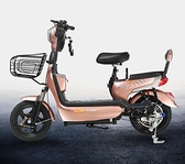 代步車【土城現貨】菲卡圖成人電動車新電瓶車男女學生電動自行車小型踏板車代步48V 歐歐