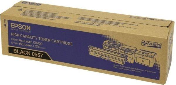 S050557 EPSON 原廠高容量黑色碳粉匣 適用 AL-C1600/CX16NF
