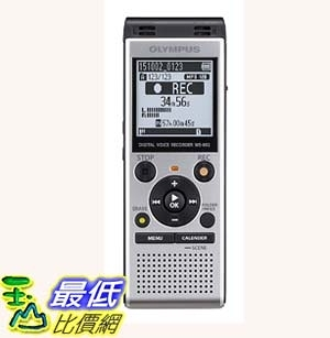 [7美國直購] 錄音筆 Olympus Digital Voice Recorder WS-852, Silver