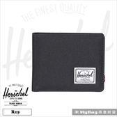 Herschel 皮夾 黑色  經典內斂多卡短夾 Roy-165  MyBag得意時袋