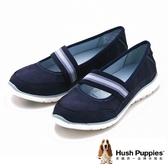 Hush Puppies SATOMI TRICIA系列 潮流平底休閒女鞋-深藍(另有黑)