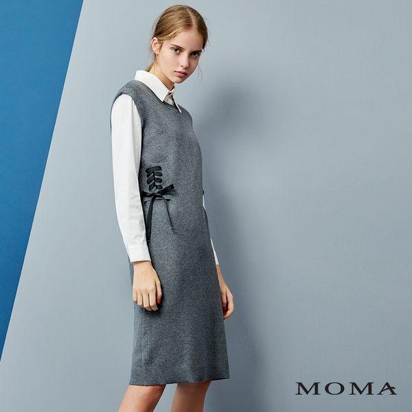 MOMA 綁帶無袖洋裝
