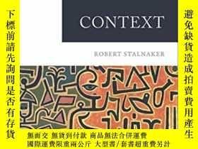二手書博民逛書店【罕見】Context (context & Content)