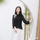 改良版旗袍上衣 2019夏季新款中國風名族刺繡女裝  YN650『寶貝兒童裝』