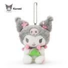 日本限定 三麗鷗  酷洛米 / 庫洛米  櫻花版 珠鍊吊飾玩偶娃娃