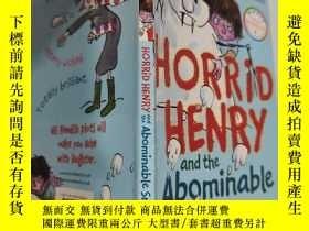 二手書博民逛書店horrid罕見henry and the abominable snowman 可怕的亨利和可惡的雪人..Y