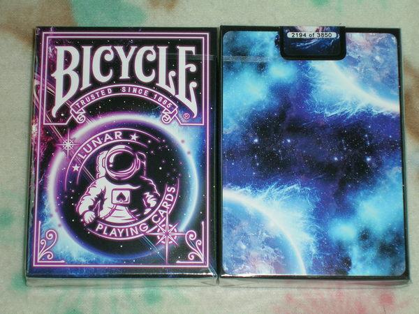 【USPCC撲克】Bicycle lunar deck 月球