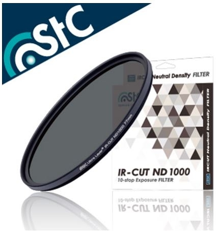 晶豪泰 【STC】IR-CUT 10-stop ND Filter 77mm 零色偏ND1000 減光鏡