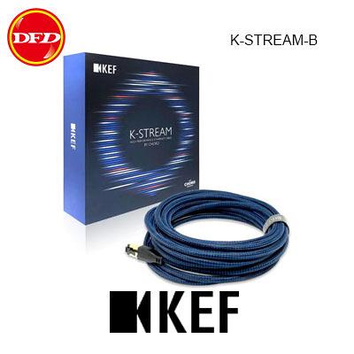 英國 KEF K-STREAM 高性能揚聲器對揚聲器纜線 黑色/藍色 台灣公司貨