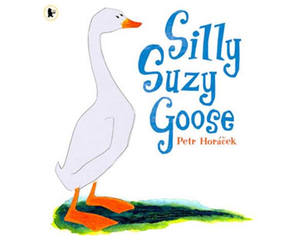 Silly Suzy Goose 呆呆鵝-蘇西 平裝繪本