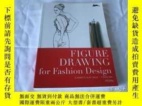 二手書博民逛書店Figure罕見Drawing for Fashion Design(服裝設計)Y8204 Figure Dr