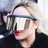 太陽鏡女款一體式面罩防曬防紫外線