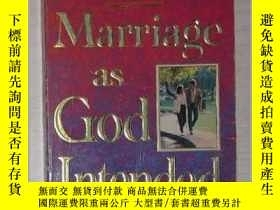 二手書博民逛書店英文原版罕見Marriage as God Intended b