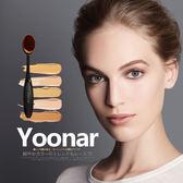 全館79折-粉底刷日本yoonar牙刷型粉底液刷萬能化妝刷不吃粉BB霜刷修容粉