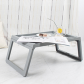 樂嫚妮 懶人桌/電腦桌/床上/多功能/折疊懶人桌-灰
