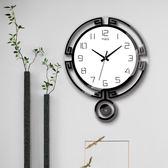 掛鐘 客廳家用時尚個性臥室鐘錶歐式簡約現代石英鐘藝術裝飾錶 - 都市時尚