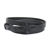 Dior 迪奧 黑色蜜蜂小牛皮繞圈手環 Abeille Triple Bracelet【BRAND OFF】