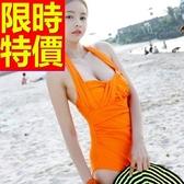 連身泳衣 泳裝-音樂祭溫泉戲水必備比基尼典型質感女神56j58【時尚巴黎】