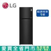 LG 315L雙門變頻冰箱 GN-L397BS含配送到府+標準安裝【愛買】