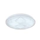 LED亮麗星鑽吸頂燈 42W/P42防水/3-4坪房間/客廳適用 三段亮度切換
