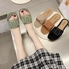 仙女拖鞋 仙女風拖鞋夏季外穿時裝平跟一字款式網紅原宿學生休閑度假沙灘鞋