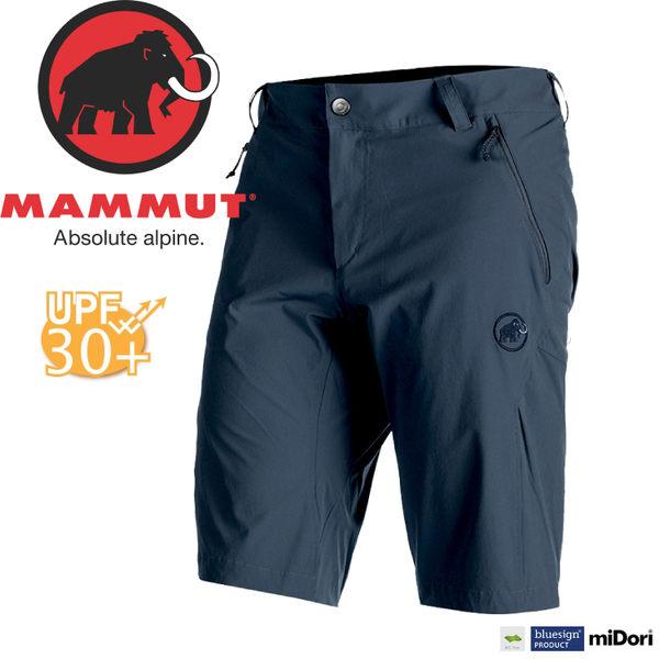 【MAMMUT Runbold Shorts 男短褲/44/海洋藍】1020-06873-5118/長毛象/透氣快乾/彈性耐磨短褲★滿額送