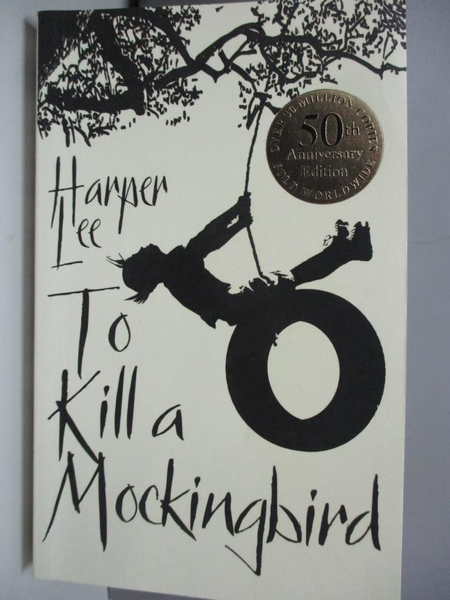 【書寶二手書T7/原文小說_ASC】To Kill A Mockingbird_Lee, Harper