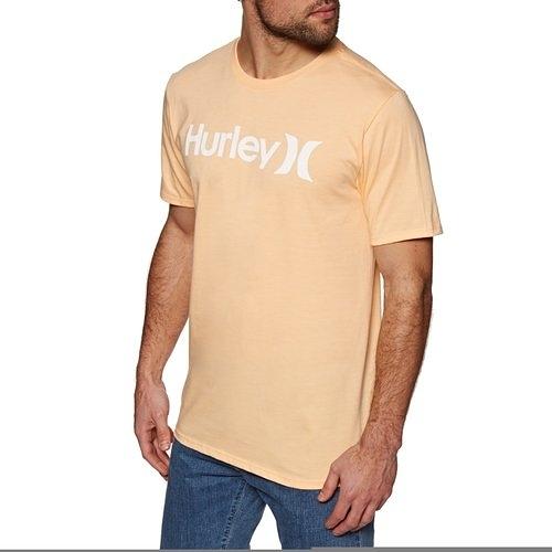HURLEY 男 PRM OAO SOLID TEE SS T恤-橘(男)