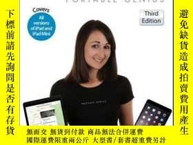 二手書博民逛書店iPad罕見Portable Genius: Covers iOS 8 and all models of iPa