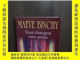二手書博民逛書店Tout罕見Changera Cette AnnéeY12800 MAEVE BINCHY Presses D