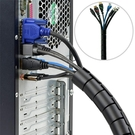 理線器包線管電線收納纏繞管電腦整理固定保護套機柜束線裝飾理線器 BASIC HOME