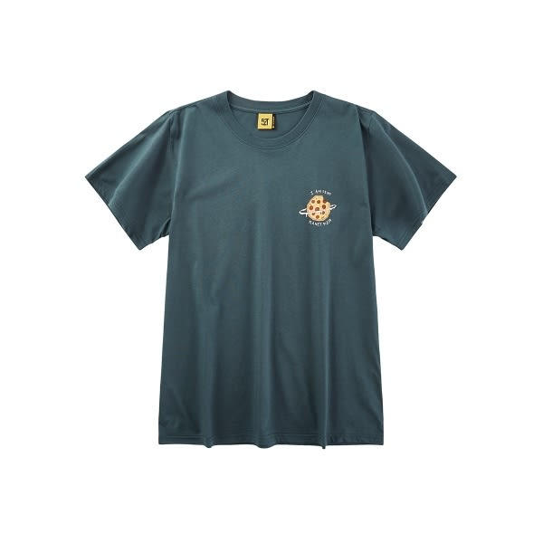 CACO-MIT 披薩星球短T-情侶款(二色)-男【SCA028】